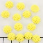 bloem chrysant 10 mm - geel