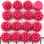 bloemetje 12 mm - roze