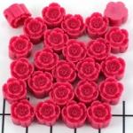 bloemetje 10 mm - roze