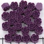bloemetje 10 mm - oud paars