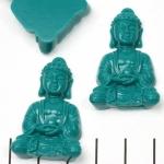 meditation buddha sitting - turquoise