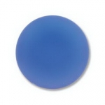 Lunasoft cabochon 18 mm rond - blueberry