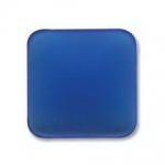 Lunasoft cabochon 17 mm vierkant - blueberry