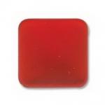 Lunasoft cabochon 17 mm vierkant - cherry