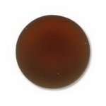 Lunasoft cabochon 18 mm rond - copper