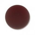 Lunasoft cabochon 18 mm rond - garnet