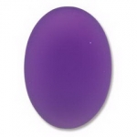 Lunasoft cabochon ovaal 25 mm - grape