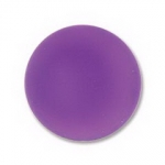 Lunasoft cabochon 18 mm round - grape
