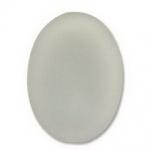 Lunasoft cabochon ovaal 25 mm - grey