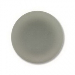 Lunasoft cabochon 18 mm round - grey
