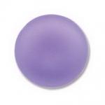 Lunasoft cabochon 18 mm rond - lavender
