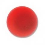 Lunasoft cabochon 18 mm rond - cherry
