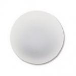 Lunasoft cabochon 18 mm rond - pearl