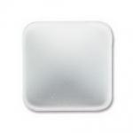 Lunasoft cabochon 17 mm square - pearl