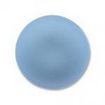 Lunasoft cabochon 18 mm rond - skyblue