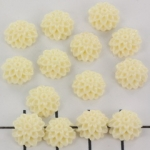 bloem chrysant 10 mm - creme