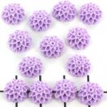 bloem chrysant 10 mm - lila