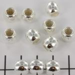8 mm rond met 5 mm gat - lichtzilver
