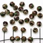 Cloisonné rond 5 mm - paars