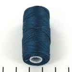 c-lon fine weight bead cord 0.4mm - peacock