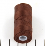 c-lon micro bead cord 0.3mm - brown