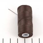 c-lon micro bead cord 0.3 mm - chcolate