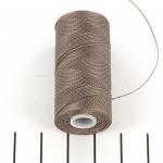 c-lon micro bead cord 0.3 mm - cocoa