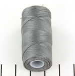 c-lon micro bead cord 0.3mm - grey