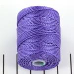 c-lon bead cord tex 400 0.9mm - amethist