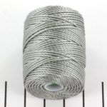 c-lon bead cord tex 400 0.9mm - argentum light gray