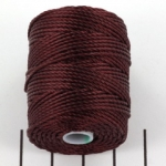 c-lon bead cord tex 400 - black currant