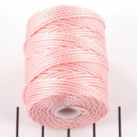 c-lon bead cord tex 400 0.9mm - bubblegum