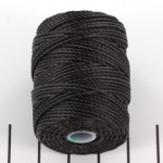 c-lon bead cord tex 400 0.9mm - charcoal