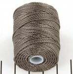 c-lon bead cord tex 400 0.9mm - cocoa