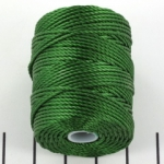 c-lon bead cord tex 400 0.9mm - green