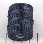 c-lon bead cord tex 400 0.9mm - indigo
