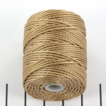 c-lon bead cord tex 400 0.9mm - latte
