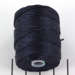 c-lon bead cord tex 400 0.9mm - navy