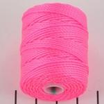 c-lon bead cord tex 400 0.9mm - neon pink
