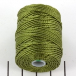 c-lon bead cord tex 400 0.9mm - olivine