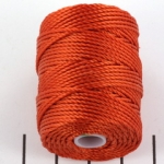 c-lon bead cord tex 400 0.9mm - orange