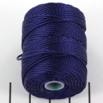 c-lon bead cord tex 400 0.9mm - persian indigo