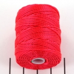 c-lon bead cord tex 400 0.9mm - poinsetta
