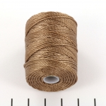 c-lon bead cord tex 400 0.9mm - sable