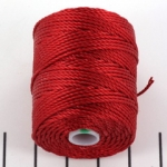 c-lon bead cord tex 400 0.9mm - shanghai red