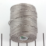 c-lon bead cord tex 400 0.9mm - zilver
