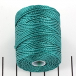 c-lon bead cord tex 400 0.9mm - teal
