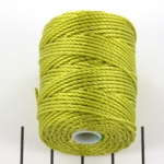 c-lon bead cord tex 400 0.9mm - chartreuse
