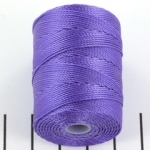 c-lon bead cord 0.5mm - amethyst