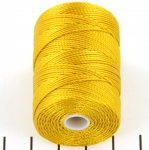 c-lon bead cord 0.5mm - aurum